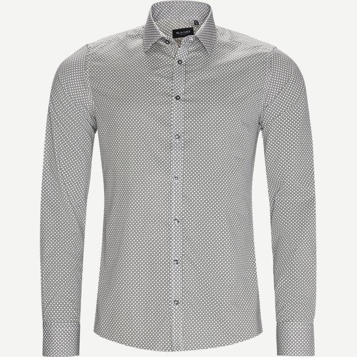 8009 Iver/State Skjorte - Skjorter - Hvid